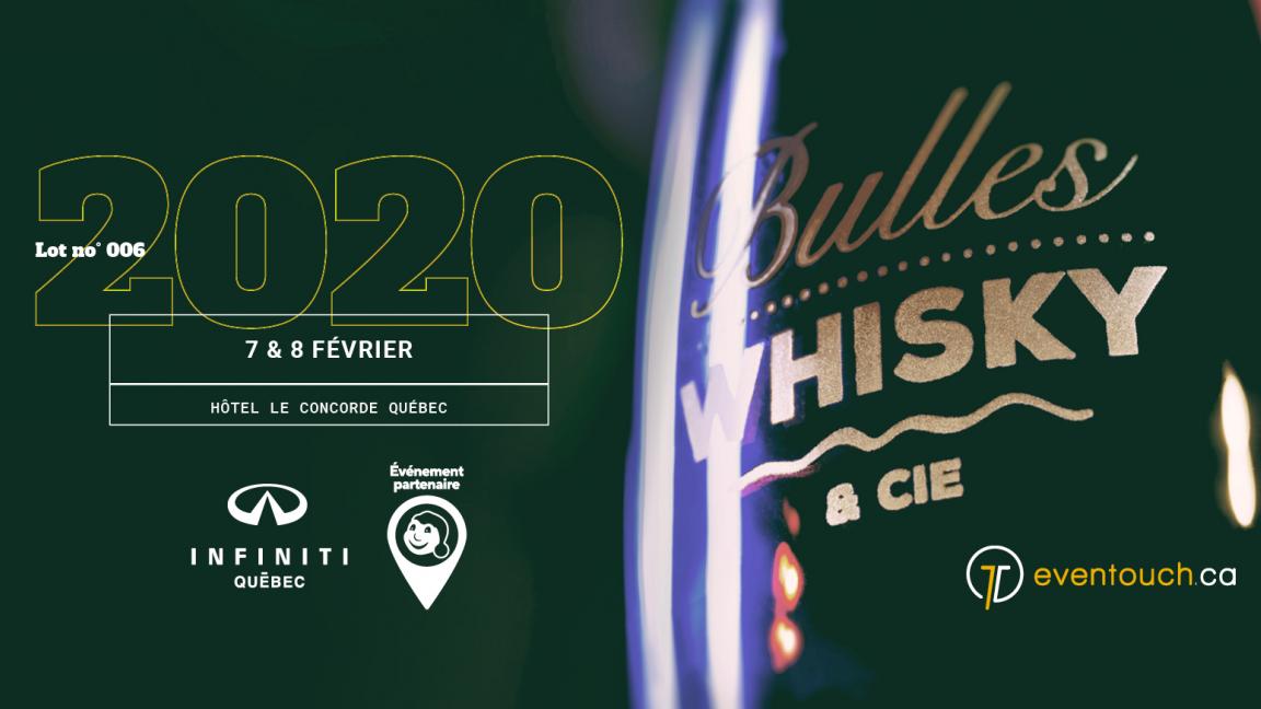 Bulles, Whisky & Cie 2020