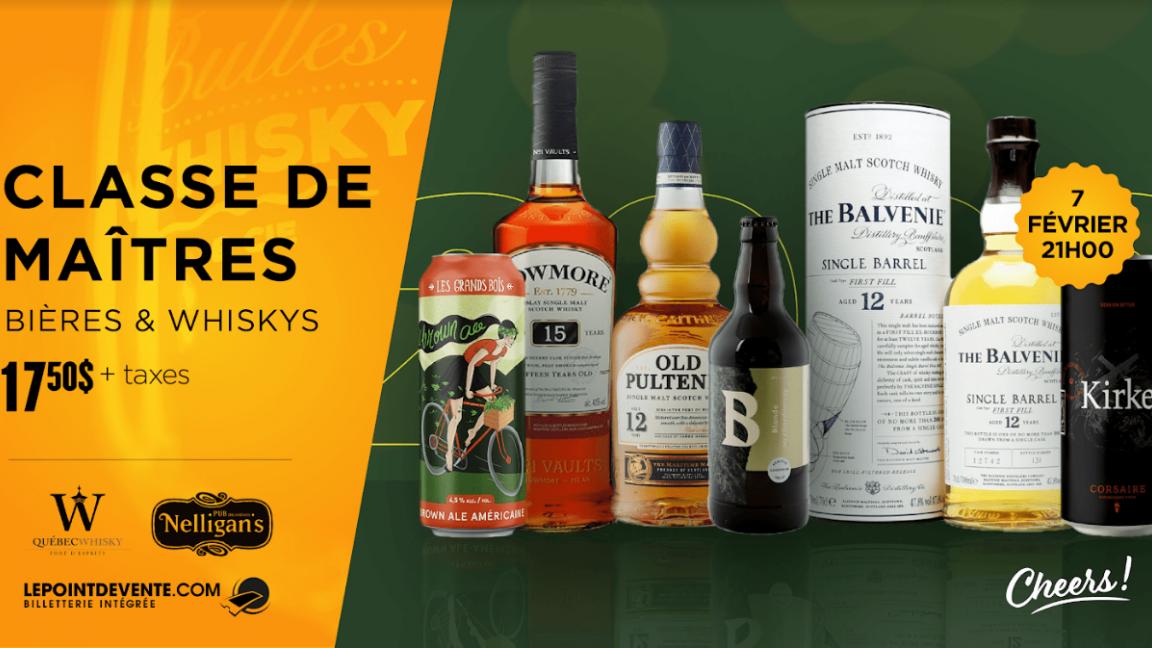 Bières & Whiskys - Classe de maîtres 2020