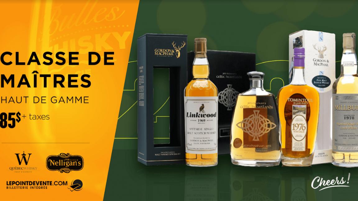 Whisky - Classe de maîtres 2020