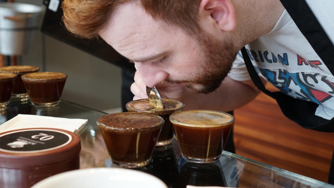 Dégustation de café par Kittel Atelier de café