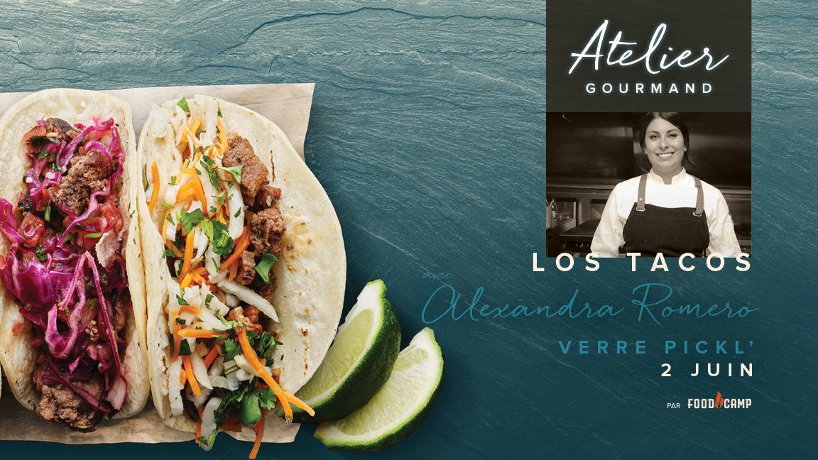Los Tacos avec Alexandra Romero