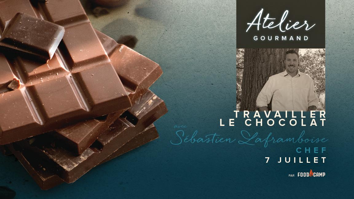 Travailler le chocolat avec Sébastien Laframboise