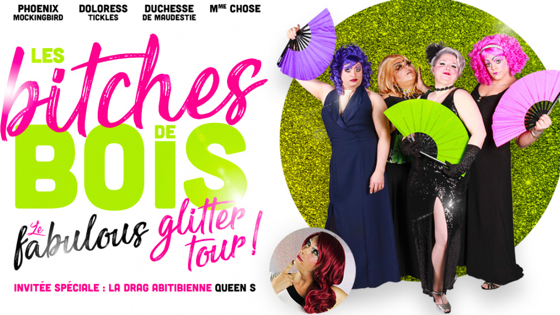 Le fabulous glitter tour