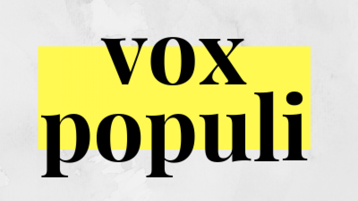 Vox Populi VI / 25 janvier