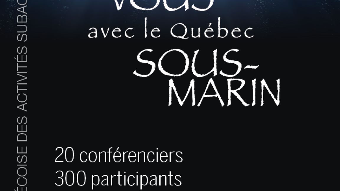 Colloque Subaquatique 2019