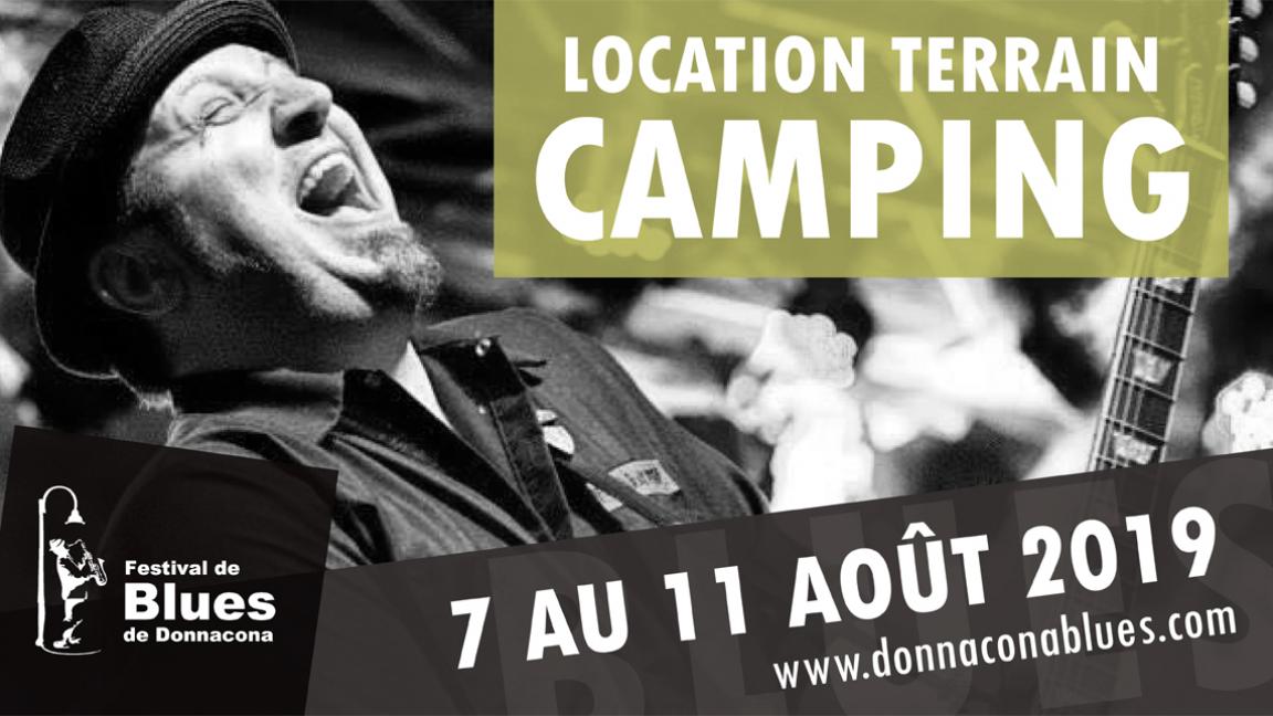Location d'un emplacement camping (Pré-vente)