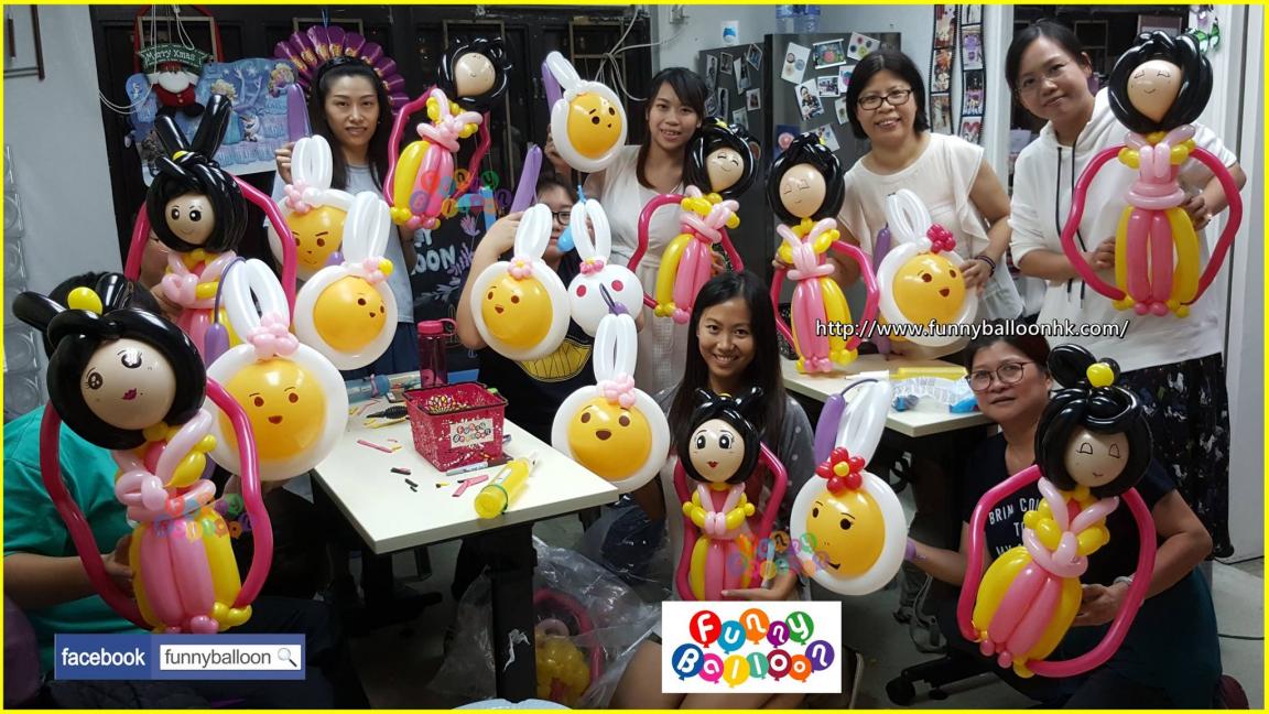扭氣球興趣班 (長沙灣) 歡迎初學者