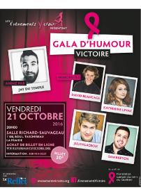 Gala d'humour Victoire
