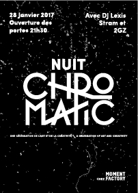 NUIT CHROMATIC @ MOMENT FACTORY