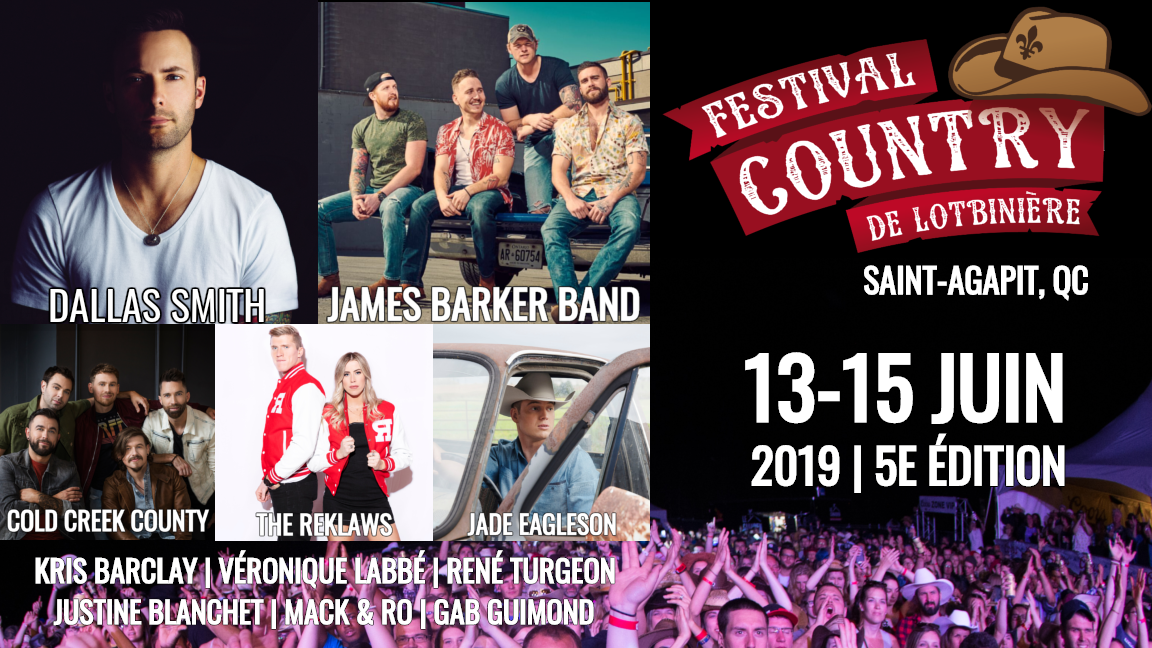 9623cf096 Festival Country de Lotbinière - From June 13th to 15th 2019 ...