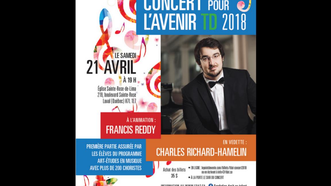 Concert pour l'Avenir 2018