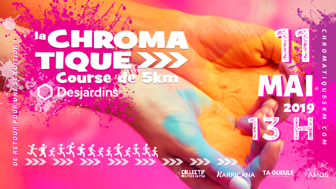 Chromatique 5KM - 13h15