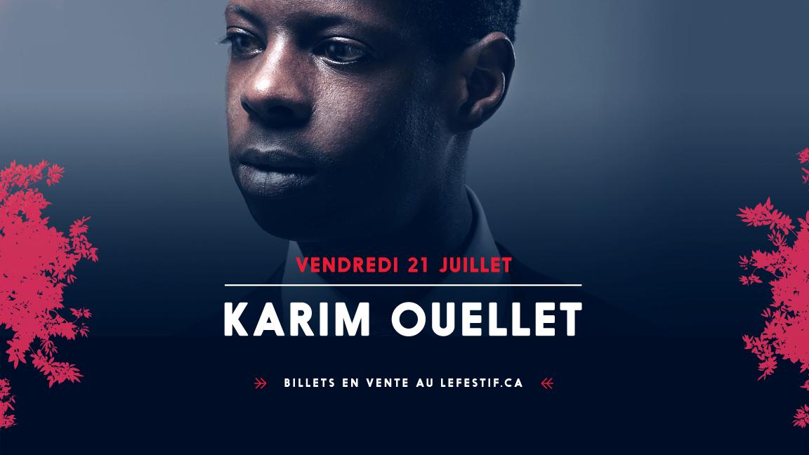 Chapiteau Radio-Canada - Karim Ouellet + Le Couleur