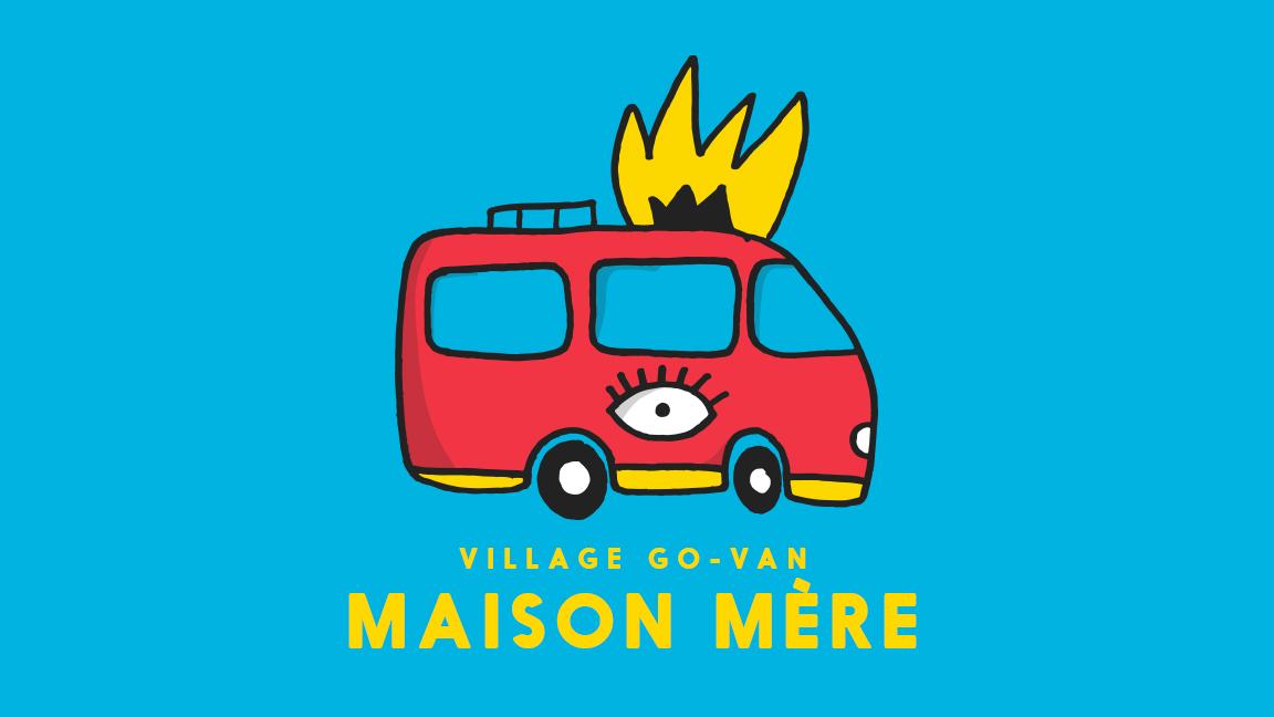 Camping du Festif! - Village Go-Van à Maison Mère