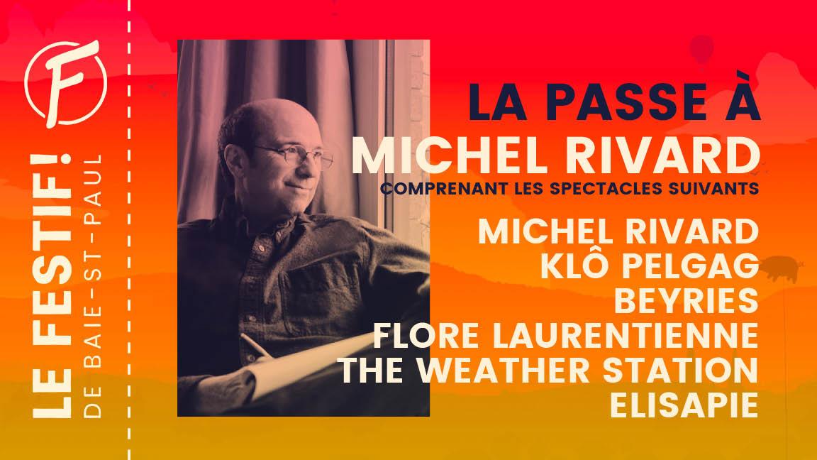 La passe à Michel Rivard
