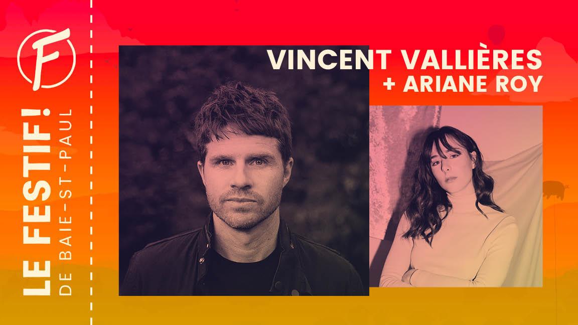 Ariane Roy + Vincent Vallières