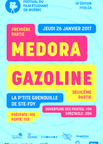FFEQ: Spectacle de financement Médora+Gazoline