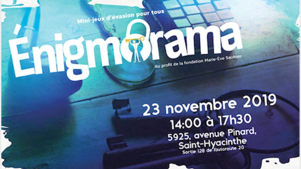 Énigmorama 2019 - Admission générale