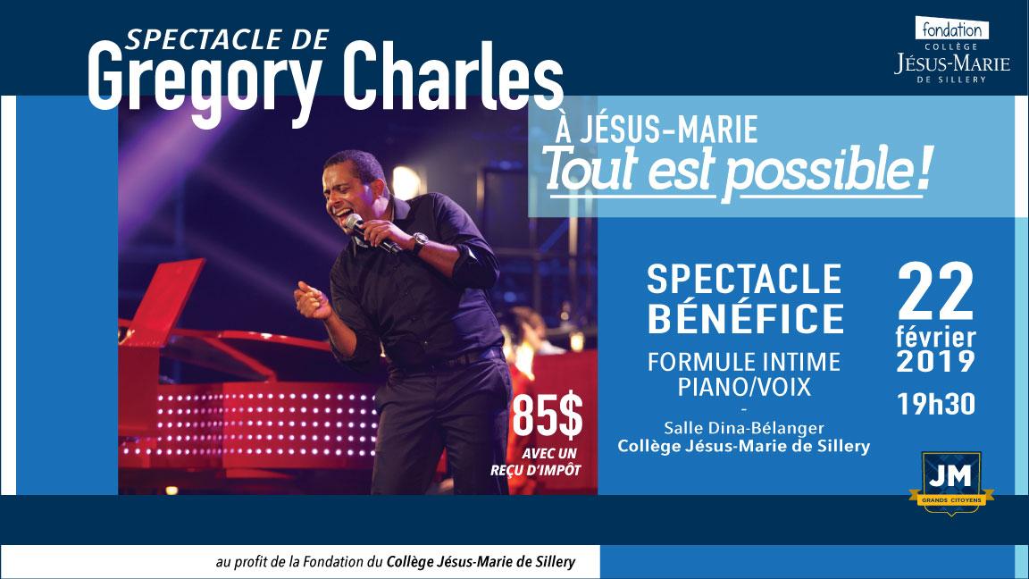 Gregory Charles en spectacle