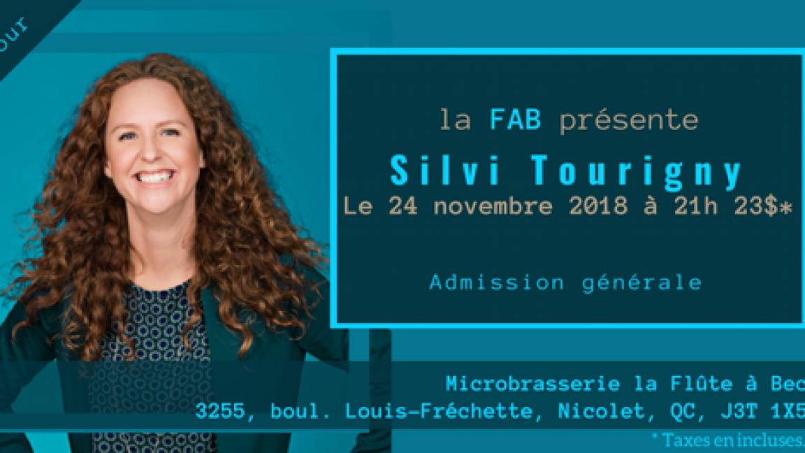 Silvi Tourigny à la FAB!