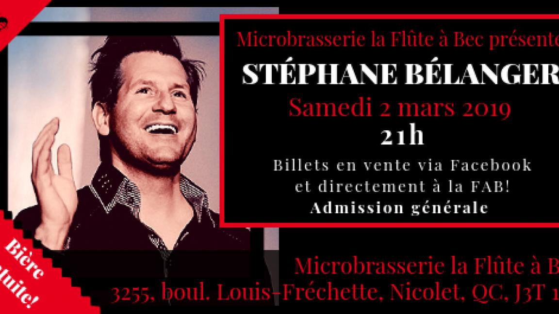 Stéphane Bélanger pour les 2 ans de la FAB!