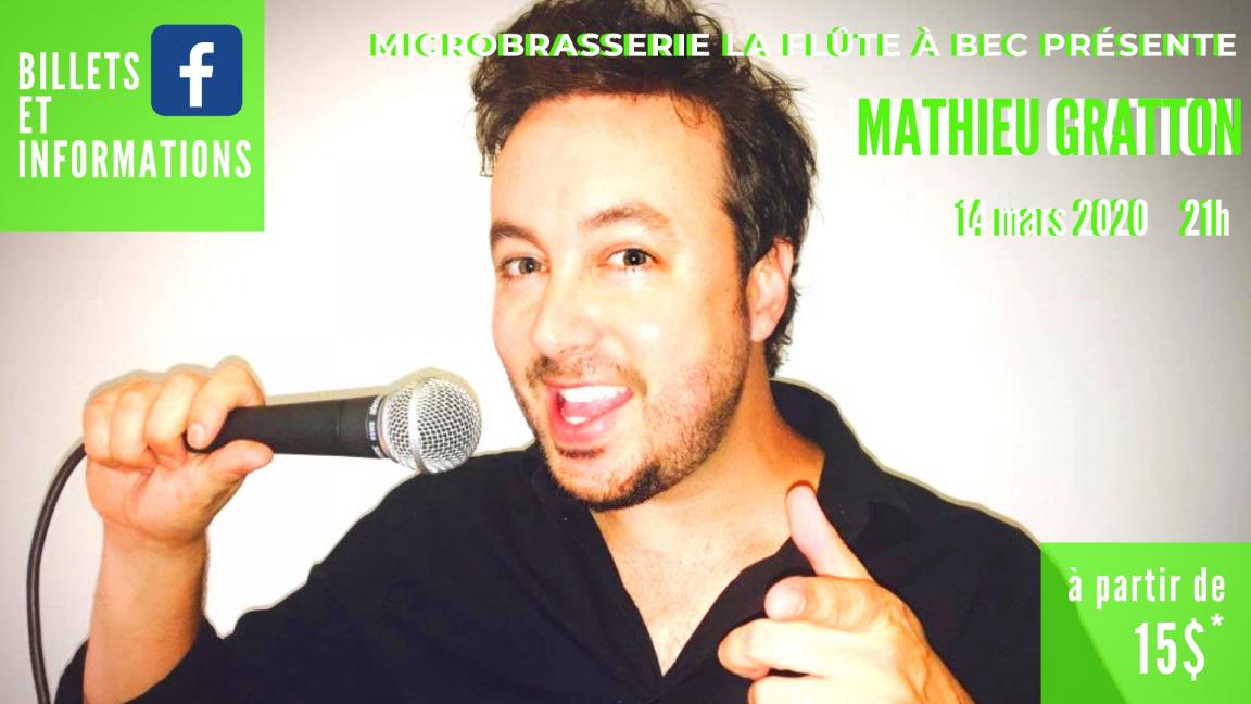 Mathieu Gratton à la FAB!