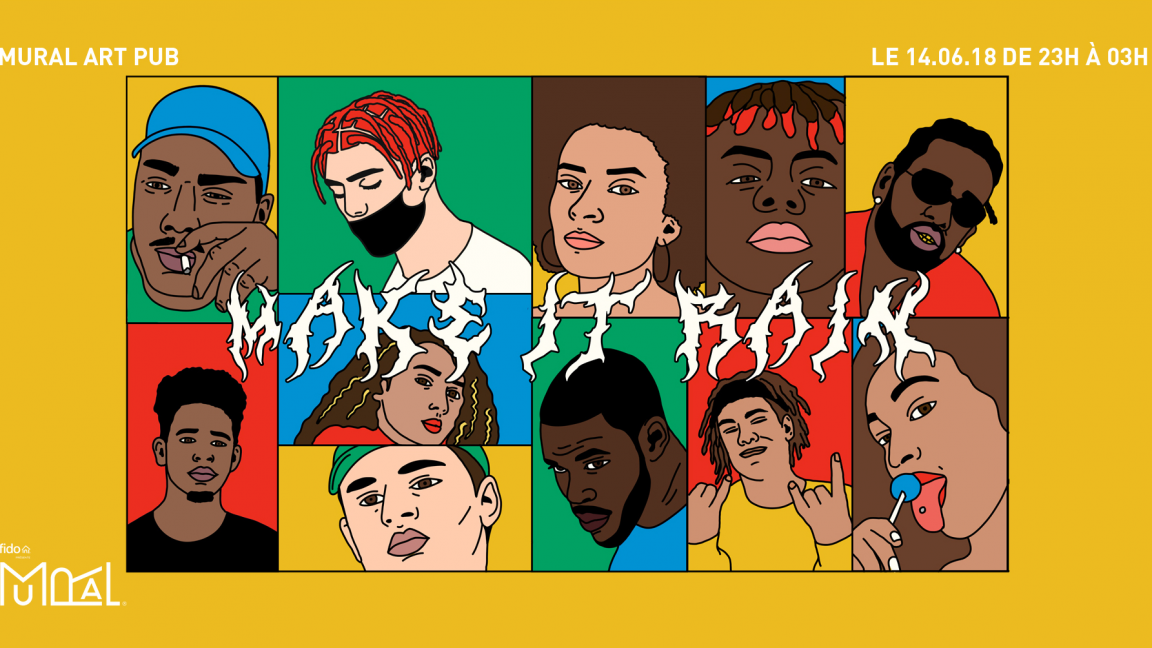 MAKE IT RAIN 1ST YEAR ANNIVERSARY: VNCE CARTER, ROWJAY, MIKE SHABB, OURI et Invités