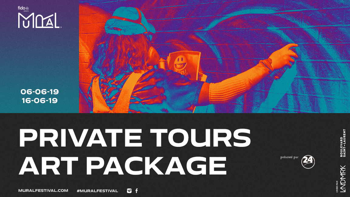 Package Art - PRIVATE Mural Guided Tours