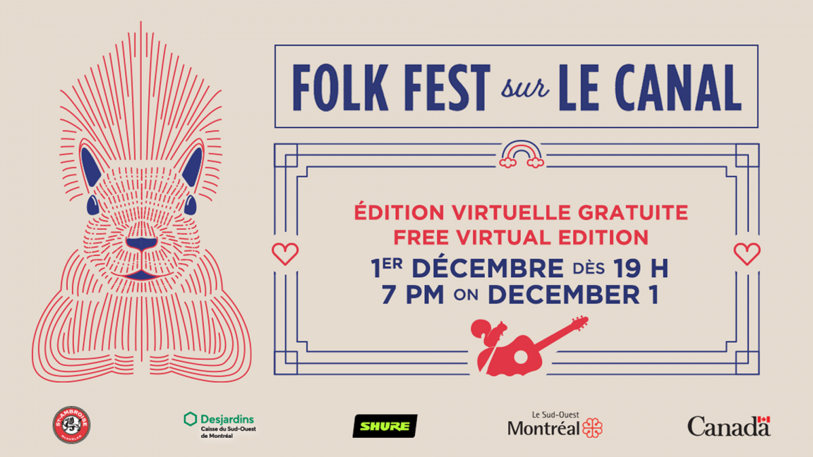 Folk Fest sur le canal - Virtual Edition