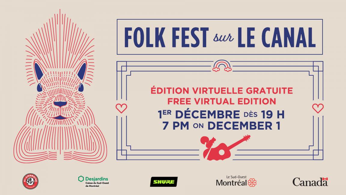 Folk Fest sur le canal - Virtual Edition