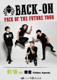 BACK-ON PACK OF THE FUTURE TOUR-HONGKONG