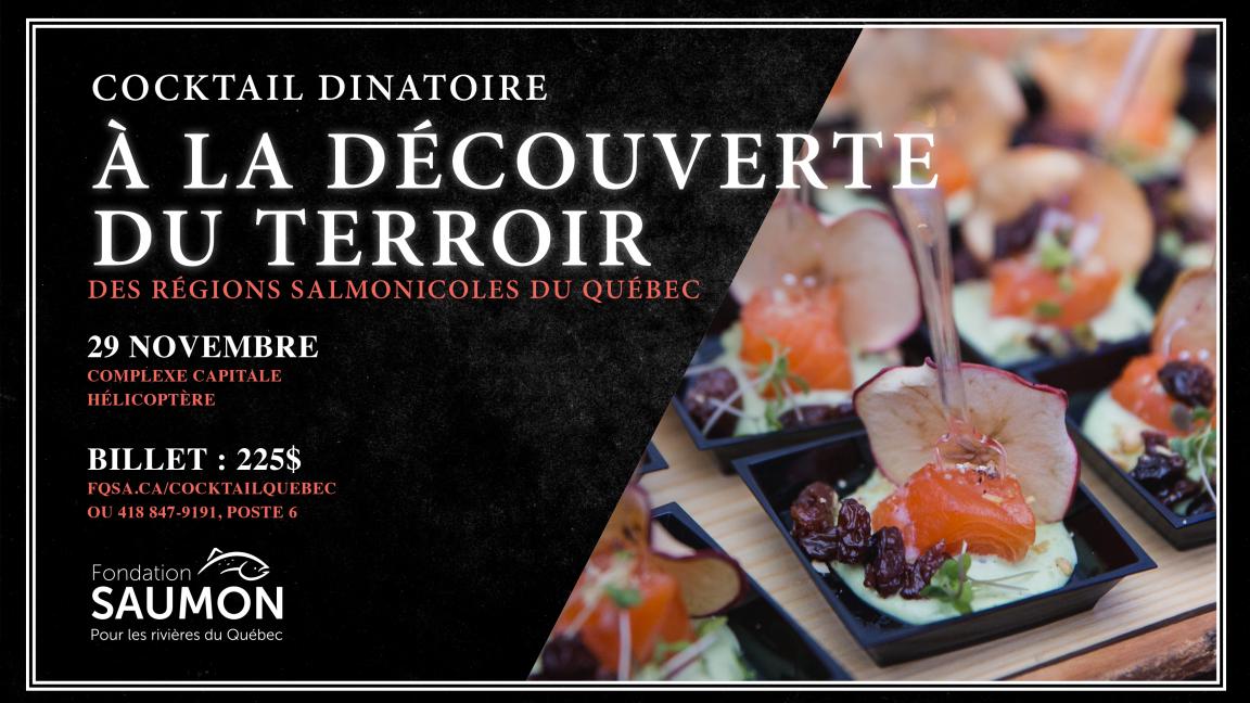 Cocktail dinatoire de Québec