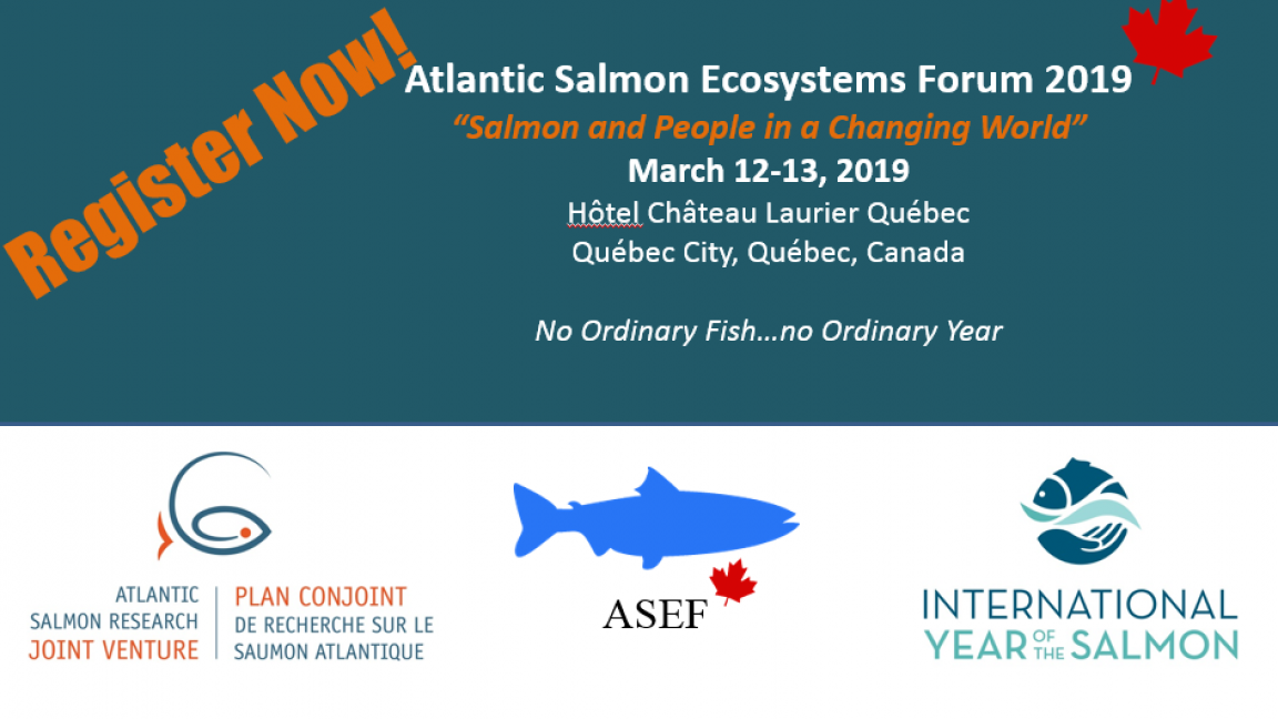 Atlantic Salmon Ecosystems Forum 2019