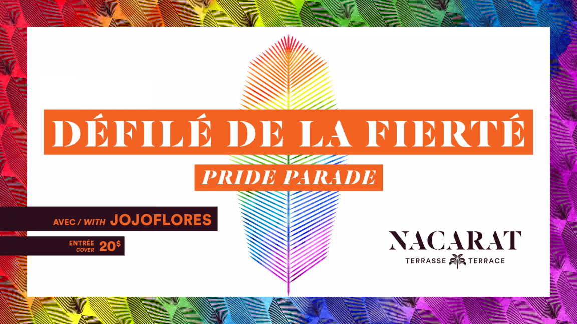 Nacarat Terrace x Montreal Pride 2019 [SOLD OUT]