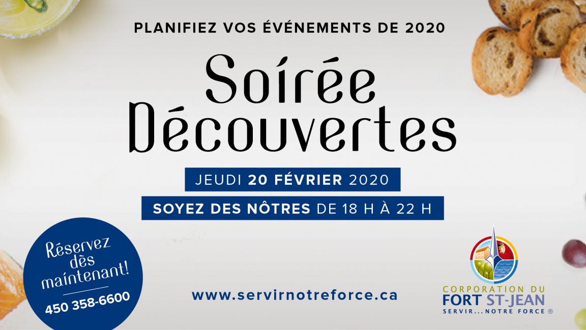 Soirée Découvertes 2020