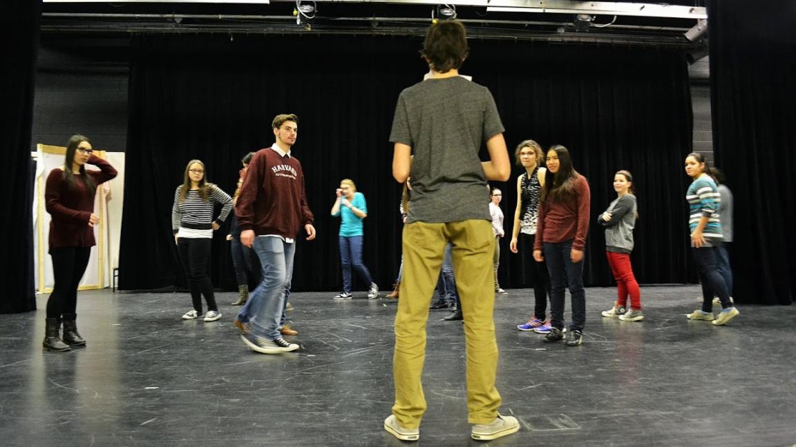 Introduction au théâtre pour les 8-16 ans