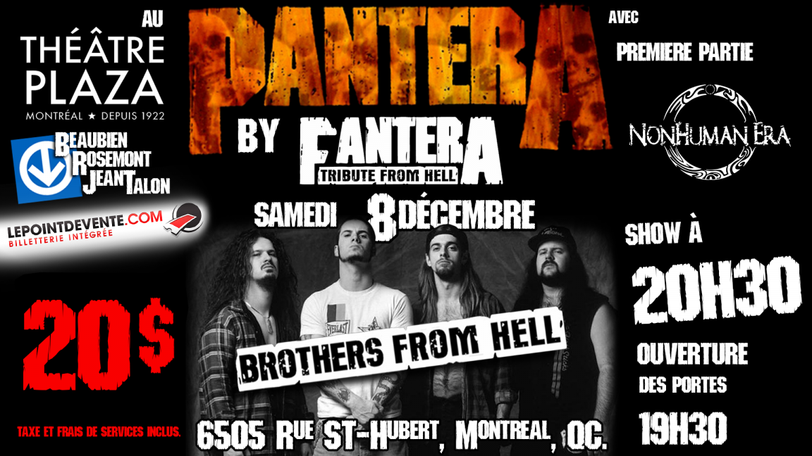 "A ""Brothers From Hell"" special - Fantera Tribute From Hell (Pantera Tribute)"