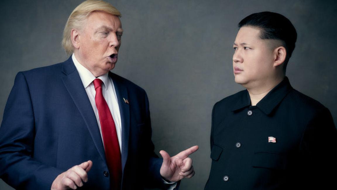 The Trump/Kim Atomic show - The Tyrants 賤人樂隊