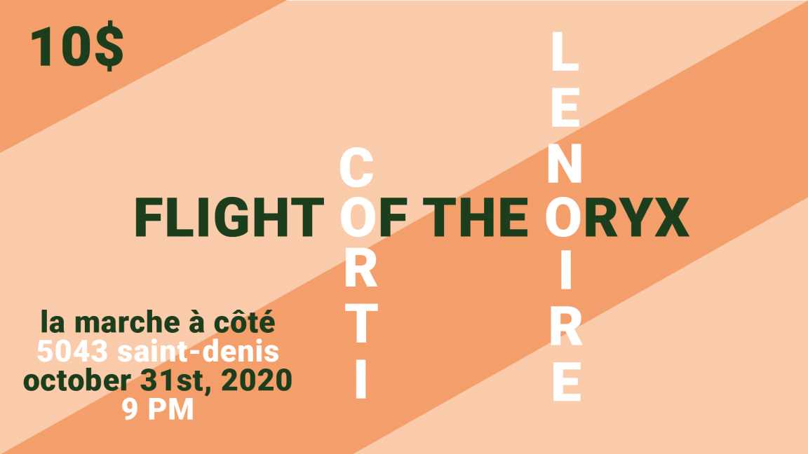 Corti // Flight of the Oryx // Lenoire