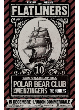 Flatliners, Polar Bear Club, The Menzingers, The Hunters