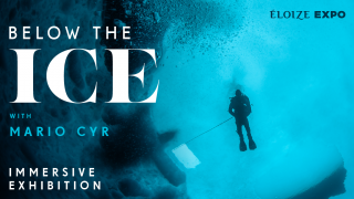 BELOW THE ICE WITH MARIO CYR