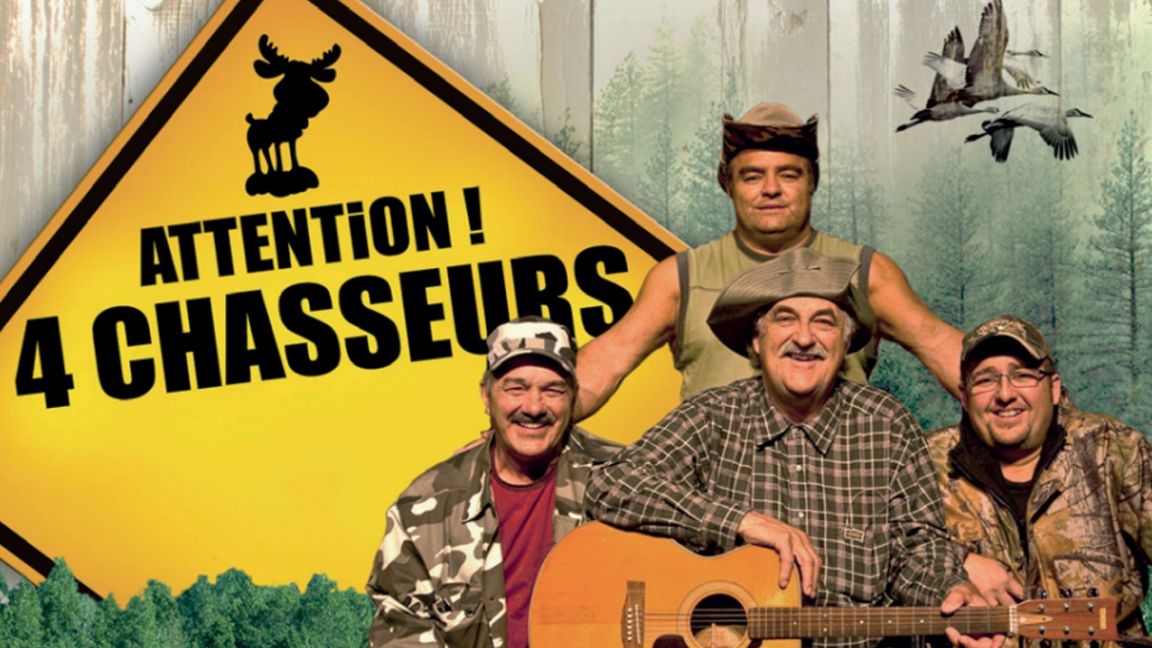 Attention 4 chasseurs