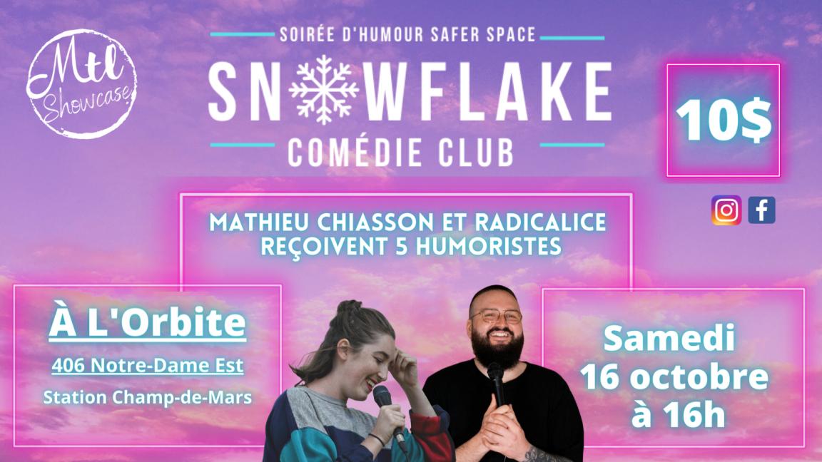 Snowflake Comédie Club