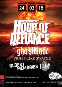 Hour of Defiance, Ghostblade, Fight Like Swayze