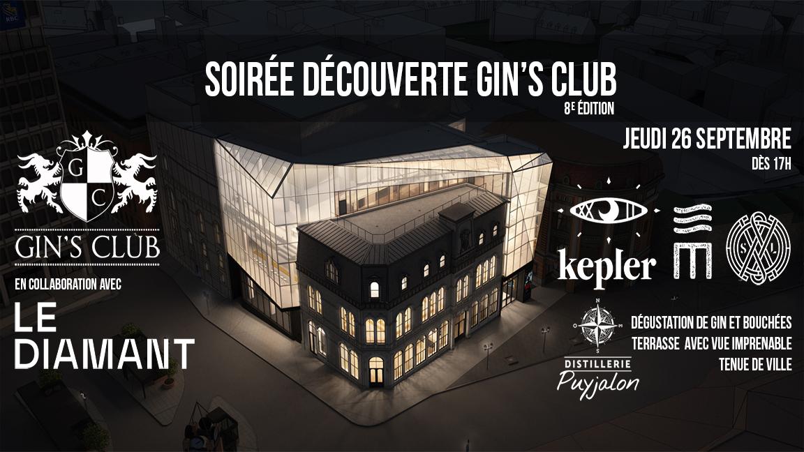 Soirée Gin's Club au Diamant de Québec