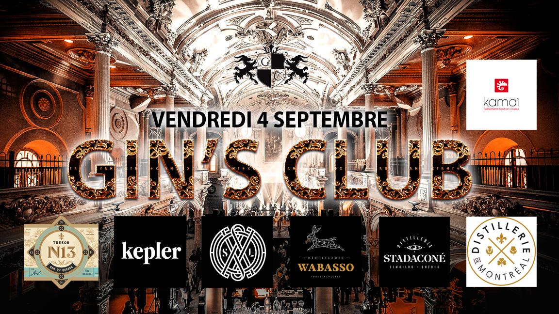Soirée Gin's Club Espace St-Grégoire