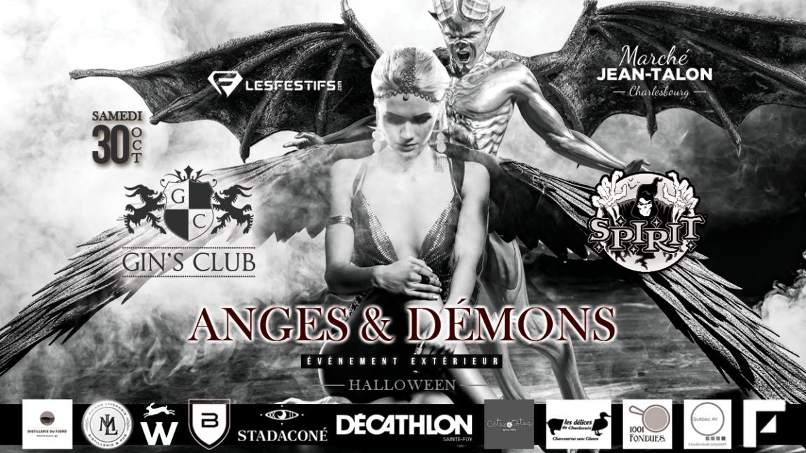 Gin's Club Halloween / Anges & Démons
