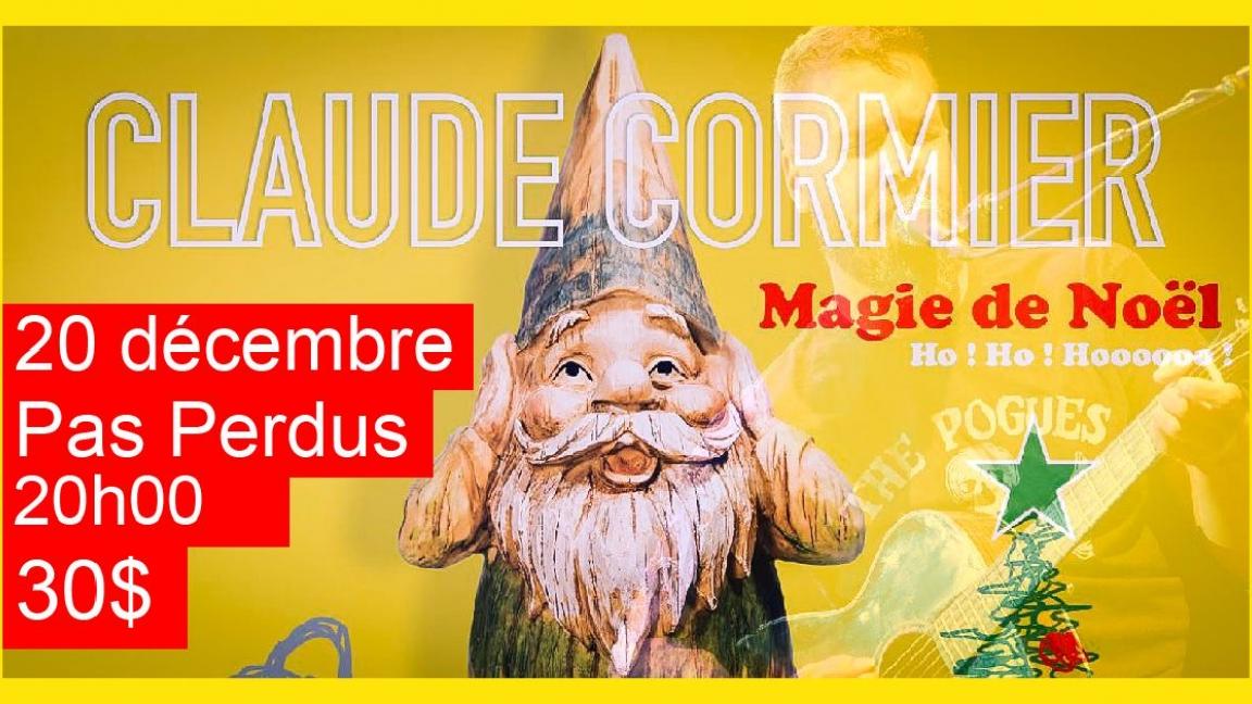 Claude Cormier La Magie de Noël