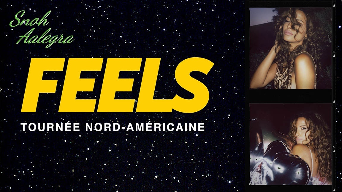Snoh Aalegra : Tournée FEELS