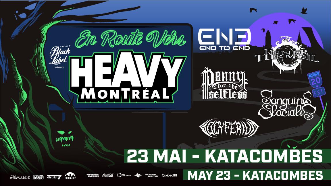 En Route Vers Heavy Montreal
